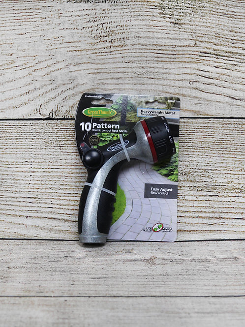 GreenThumb 10 Pattern Hose Nozzle