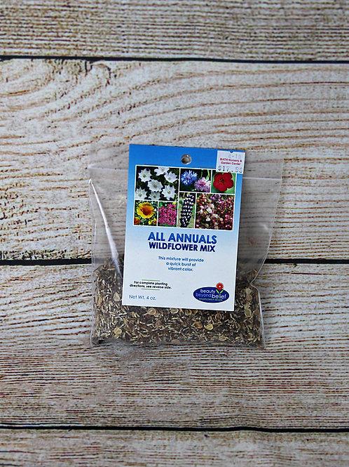 All Annuals Wildflower Mix