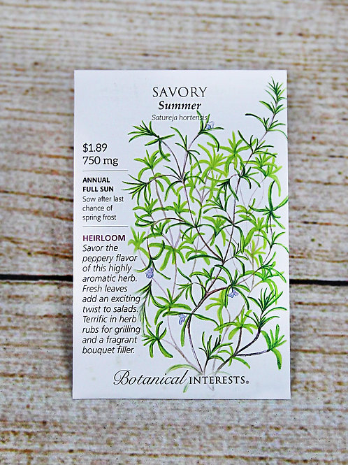 Savory (Summer)