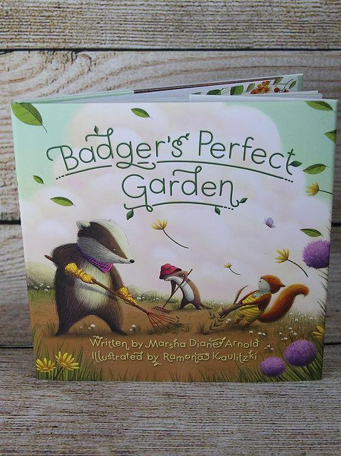 Badger's Perfect Garden Hardcover Book