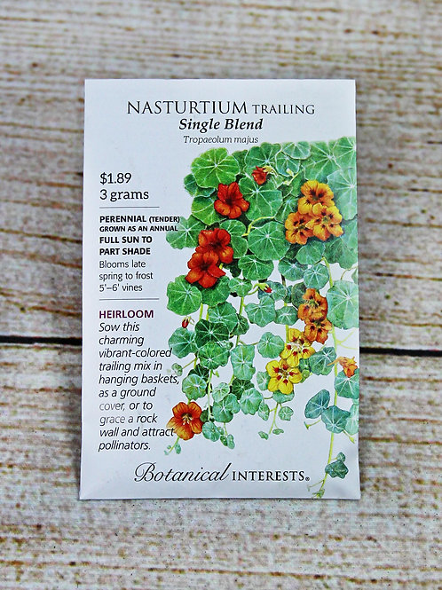 Nasturtium, Trailing (Single Blend)