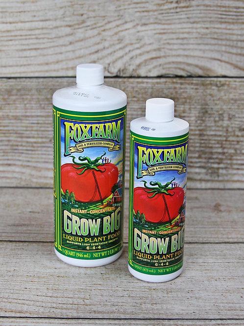 Foxfarm Grow Big Liquid Plant Food