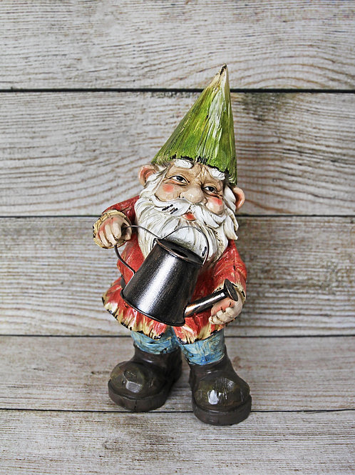 Garden Gnome with Watering Can