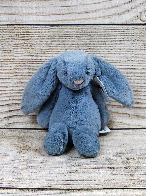 Jellycat Small Bashful Dusky Blue Bunny