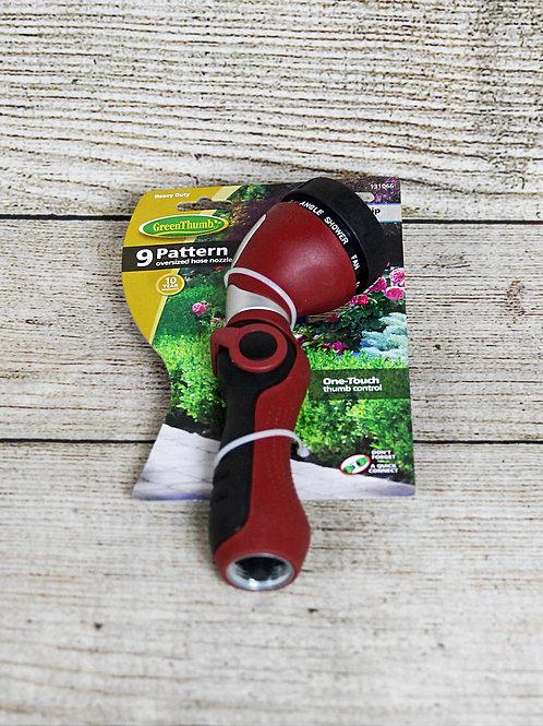 GreenThumb 9-Pattern Oversized Hose Nozzle
