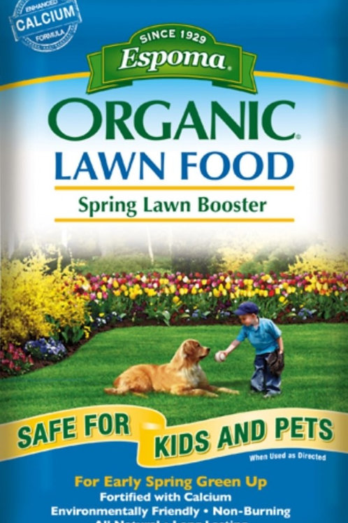 Organic Spring Lawn Booster