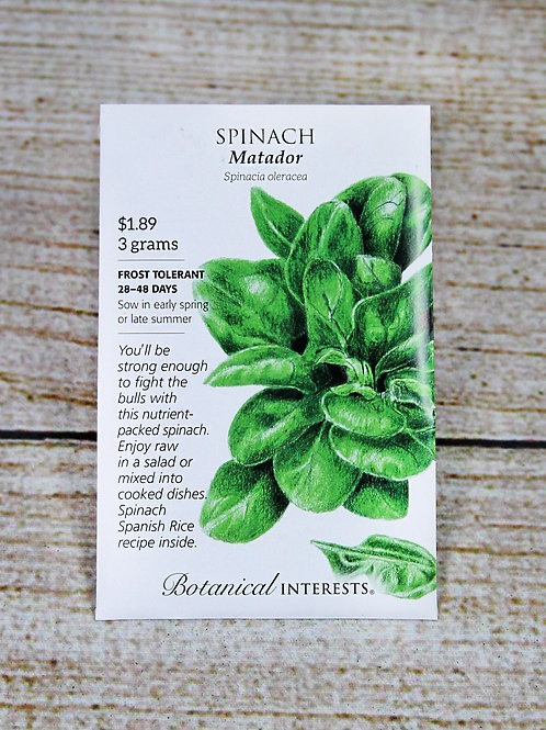 Spinach - Matador Seeds