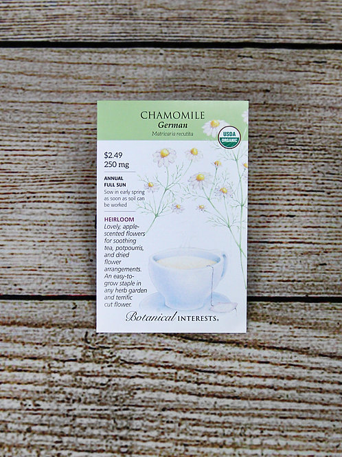 Organic Chamomile German Seeds