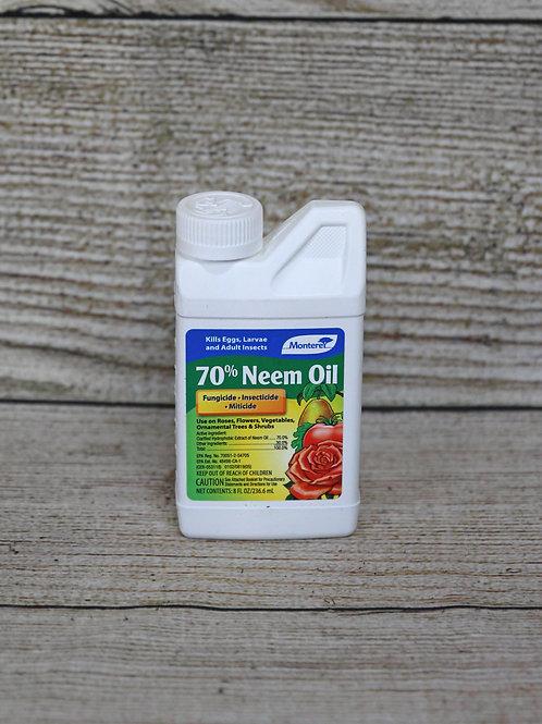 70% Neem Oil - Fungicide, Miticide & Insecticide