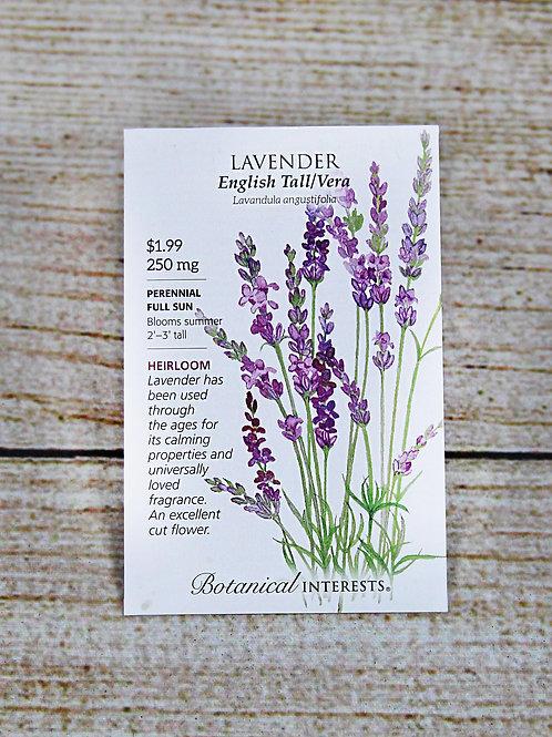 Lavender English Tall/Vera Seeds