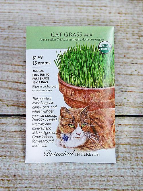 Cat Grass, Organic (Mix)