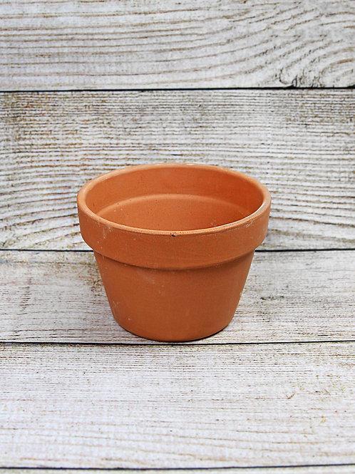"""6"""" Azalea Terra Cotta Pot"""