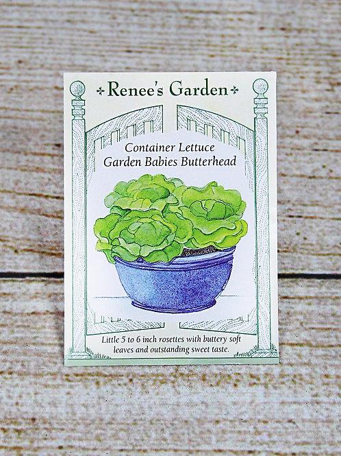 Lettuce, Container (Garden Babies Butterhead)