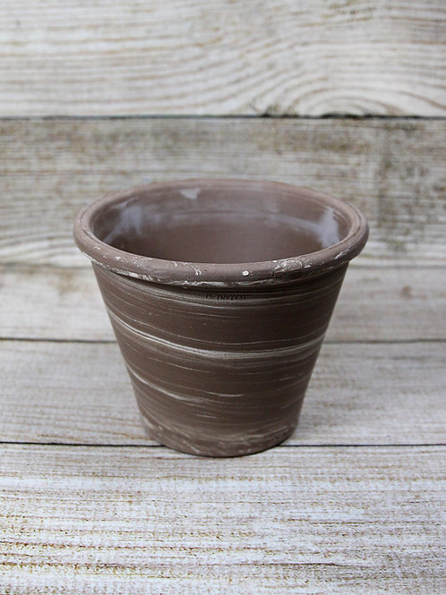 "8"" Graphite Vasum Duo Pot"