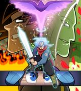 Goku Black Arc Poster