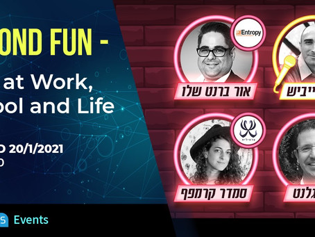 "Tomorrow! Our interactive panel - ""Beyond Fun - Play at Work, School and Life"" (In Hebrew)"