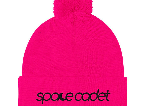 Space Cadet | Pom-Pom Beanie