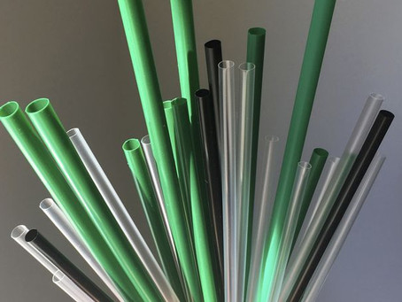 Plastic Straws are on their way out!