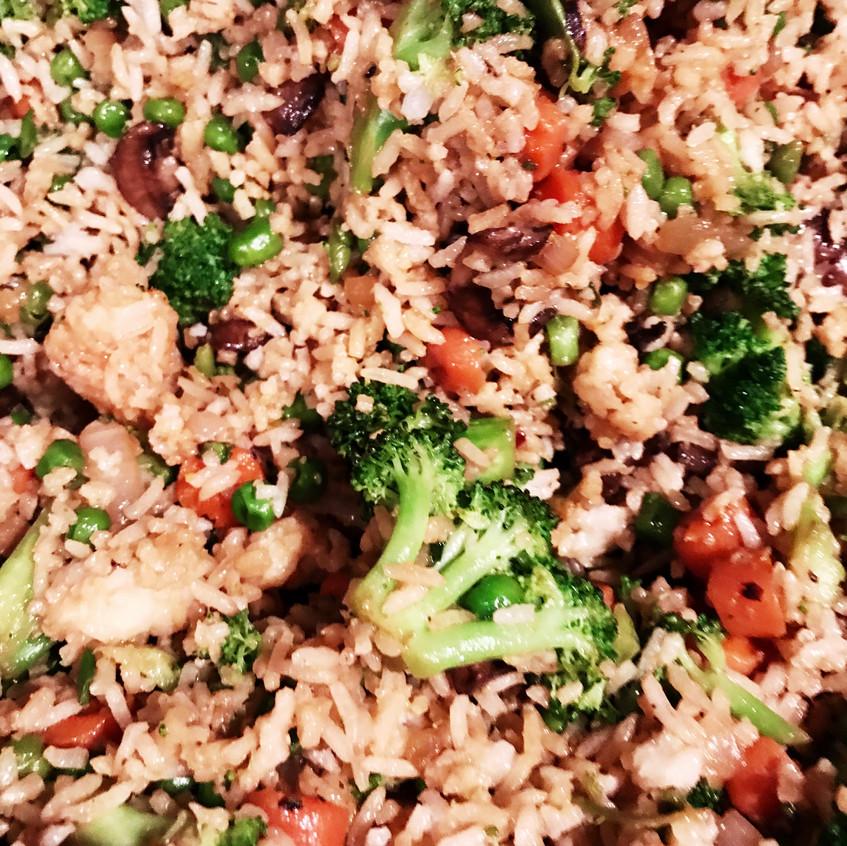 Cooking Vegan Asian Wok Style