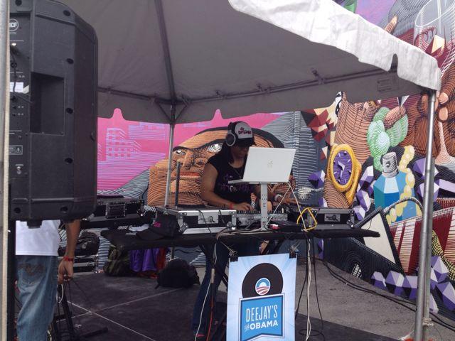 DJ's for Obama