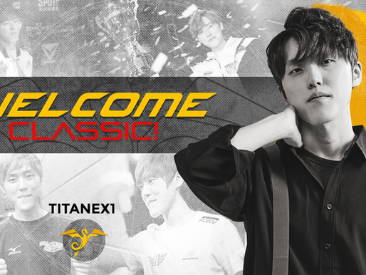 Classic joins our team!