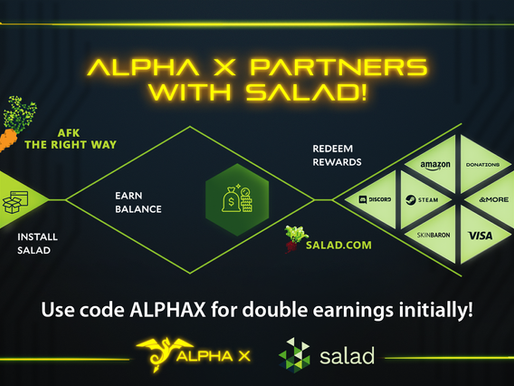Alpha X partners with Salad!