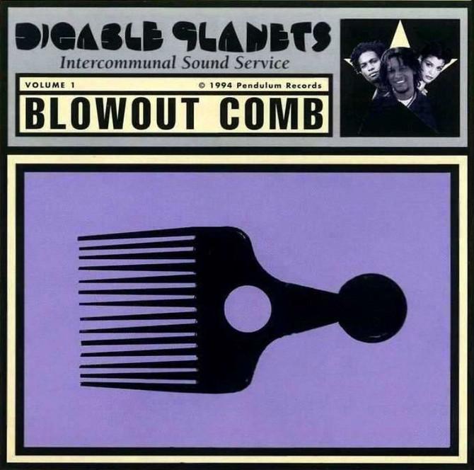 #VitalFactz: 26th Anniversary - Digable Planets (Blowout Comb)