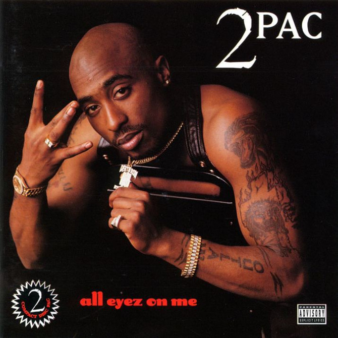 #VitalFactz: 25th Anniversary - Tupac Shakur (All Eyez On Me)
