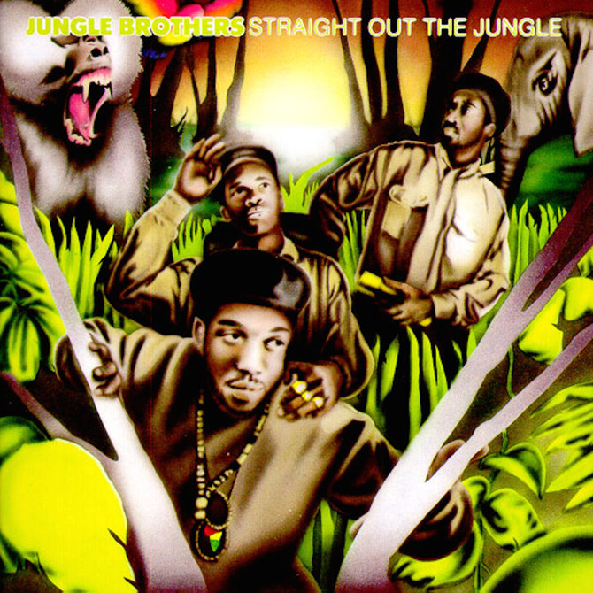 #VitalFactz: 32nd Anniversary - Jungle Brothers (Straight Out The Jungle)