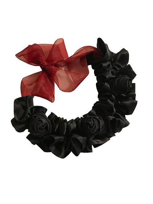 Rose Silk Necklace