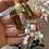 Thumbnail: GOLD SKULL Crystal Jewelry Necklace!!