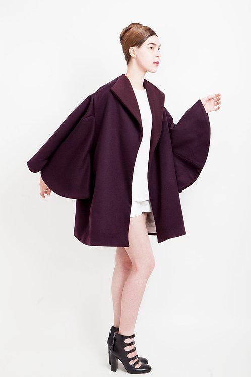 100% Cashmere Wool Coat
