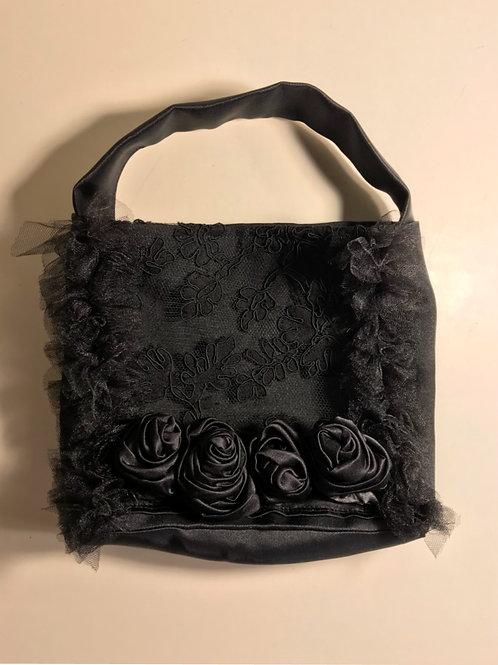 Textile Rose Bag