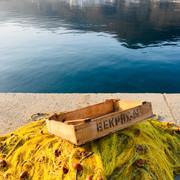 Retour de pêche au port de Katapola.