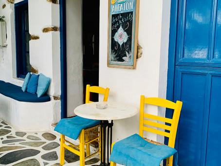 Café à Katapola