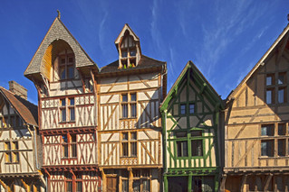 Troyes, the timber-framed city
