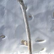 Mur blanc à Chora