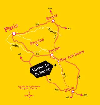 La Route touristique du Champagne en Fête : découvrez la Vallée de la Sarce
