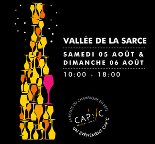 Route touristique du Champagne en Fête : découvrez 16 caves les 6 et 7 août.