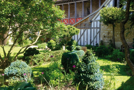 jardin chambre hotes hotel charme troyes champagne