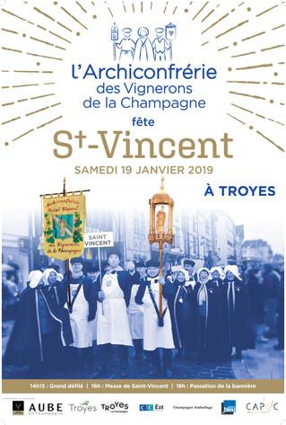 Le 19 janvier, participez à la Saint-Vincent organisée à par son archiconfrérie