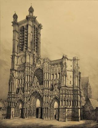 Conférence - Entre historiographie et survivance, le quartier cathédrale de Troyes du XIXe siècle à