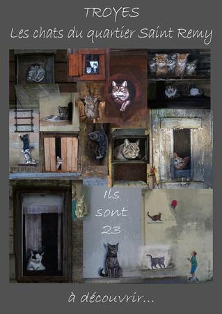 Les 23 chats cachés...
