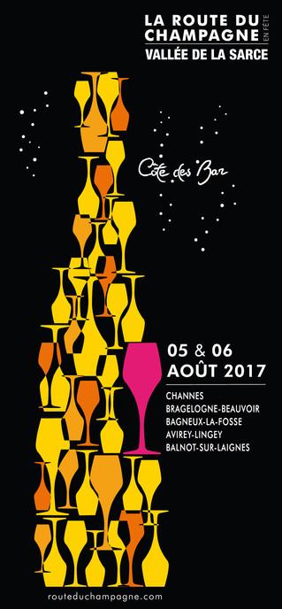 La Route du Champagne en Fête 2017 les 5 et 6 août 2017