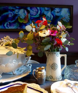 Tea time au Jardin de la Cathédrale