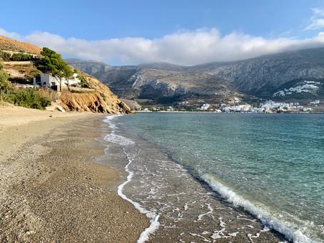 Plage de Levrosos, Amorgos