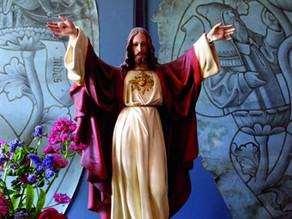 Christ et cartons de vitraux