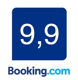50e commentaires sur booking.com et toujours une note moyenne de 9,9. Merci à nos hôtes