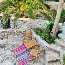 """Une petite terrasse """"oasis"""""""