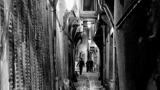 Troyes en noir et blanc par Sylvain Bussy